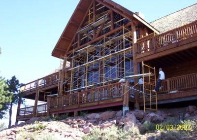 Elk Ridge Builders & Design Mid-Project